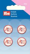 Prym ABC Round 2 Hole Buttons