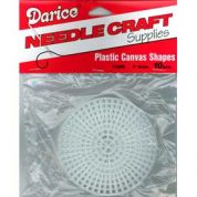 Darice 7 Count Plastic Canvas Circles