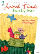 Annie's Attic Animal Friends Two By Two Knitting Craft Book