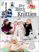 Annie's Attic Itty Bittie Knitties Knitting Craft Book