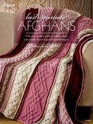 Annie's Attic Last Minute Afghans Knitting Craft Book