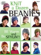 Annie's Attic Knit a Dozen Beanies Craft Book