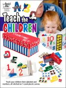 Annie's Attic Teach The Children Plastic Canvas Craft Book