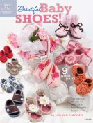Annie's Attic Beautiful Baby Shoes Crochet Craft Book