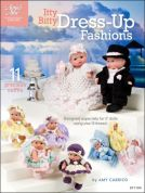 Annie's Attic Itty Bitty Dress Up Fashions Crochet Craft Book