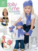 Annie's Attic Dolly & Me Accessories & Toys Crochet Craft Book