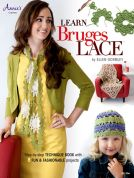 Annie's Attic Learn Bruges Lace Crochet Craft Book