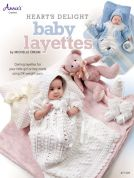 Annie's Attic Heart's Delight Baby Layettes Crochet Craft Book