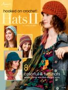 Annie's Attic Hooked on Crochet Hats 2 Craft Book