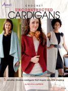 Annie's Attic Crochet Unconstructed Cardigans Craft Book
