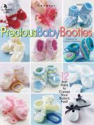 Annie's Attic Precious Baby Booties Crochet Craft Book