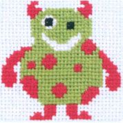 Anchor 1st Cross Stitch Kit for Children & Beginners Bert