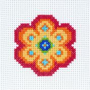 Anchor 1st Cross Stitch Kit For Children & Beginners Flower