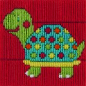 Anchor 1st Long Stitch Kit For Children & Beginners Turtle