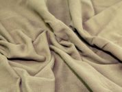 Heavy Soft Cotton Moleskin Dress Fabric  Khaki Brown