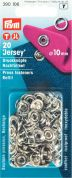 Prym Ring Top Jersey Press Fasteners Refill Pack  Silver