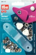 Prym Jersey Cap Press Fasteners  Pearl