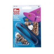 Prym Ring Top Press Fasteners Refill  Copper