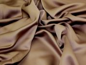 Plain Polyester Fabric  Brown