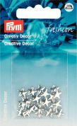 Prym Iron On Decorative Fashion Squares  Black