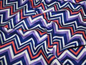 Camelot Fabrics Paisley Please Chevron & On Quilting Fabric