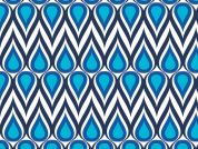 Camelot Fabrics Singin the Blues Drops Poplin Quilting Fabric