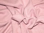 Heavy Textured Wool Blend Coat Weight Fabric  Pink
