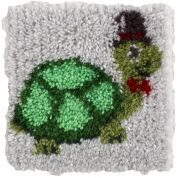 Caron WonderArt Latch Hook Rug Kit Turtle
