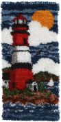 Caron WonderArt Latch Hook Rug Kit Lighthouse