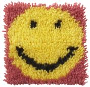 Caron WonderArt Latch Hook Rug Kit Smile