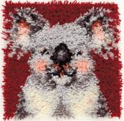 Caron WonderArt Latch Hook Rug Kit Koala
