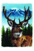 Caron Classics Latch Hook Kit Deer