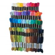 Anchor Soft Cotton Embroidery Thread  Assorted Colours