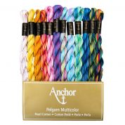 Anchor Cotton Perle Thread Pack  Assorted Colours