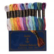 Anchor Multi Colour Embroidery Thread Pack