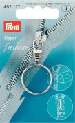 Prym Replacement Zip Fastener Puller Ring  Silver