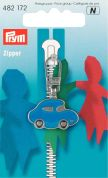 Prym Replacement Zip Fastener Puller Car  Blue