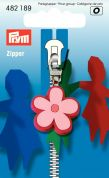 Prym Replacement Zip Fastener Puller Flower  Pink