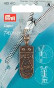 Prym Replacement Zip Fastener Puller Sport  Antique Brass