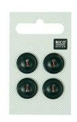 Rico Round Plastic Buttons