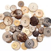 500gm Bag Assorted Buttons