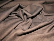 Polyester & Lycra Stretch Suiting Dress Fabric  Black & Brown