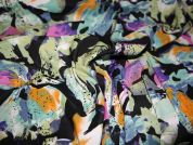 Floral Print Viscose Dress Fabric