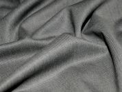 Polyester & Wool Blend Suiting Dress Fabric  Grey