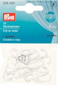 Prym Curtain Hooks Transparent Clip On Hooks  Clear