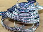 Woven Aztec Design Jacquard Ribbon Braid Trimming