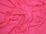 Plain Stretch Mesh Dress Fabric  Fuchsia Pink