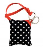 Prym Polka Dot Pin Cushion & Scissors  Black, White & Red
