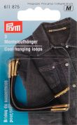 Prym Artificial Leather Coat Hanging Loops