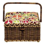 Prym Sewing Basket Box Peace Medium